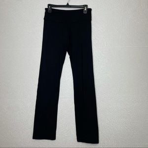 Lululemon Black Flare Leg Groove Pant 6